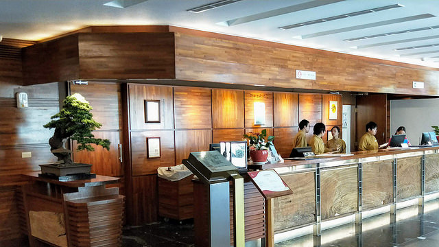 錦水溫泉飯店 - 櫃台