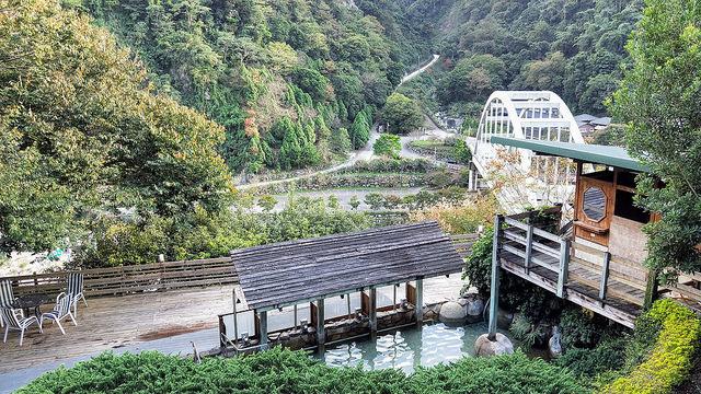 錦水溫泉飯店 - 大眾池景觀
