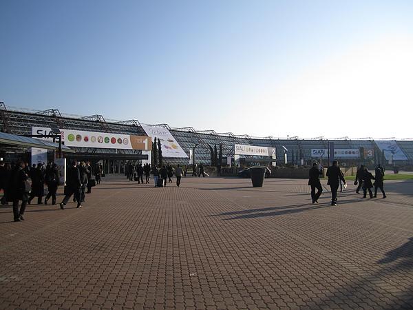Parc des Expositions非常大