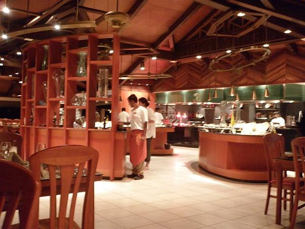 這是餐廳內部