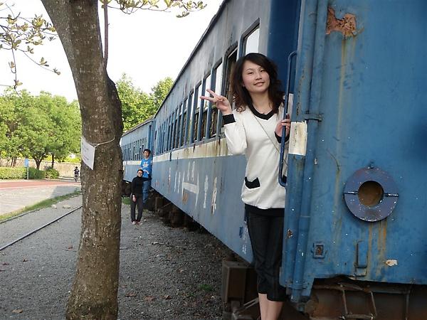 老舊的火車..