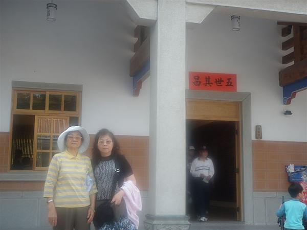 我的寶貝外婆和媽咪~