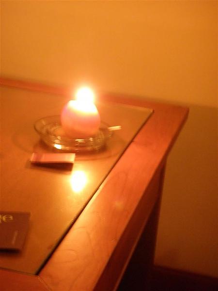 水蜜桃蠟燭