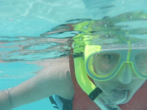 水下來一張