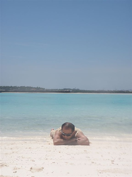做個沙灘浴吧