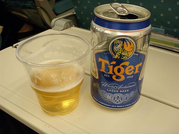 新航才有的喔  Tiger啤酒~