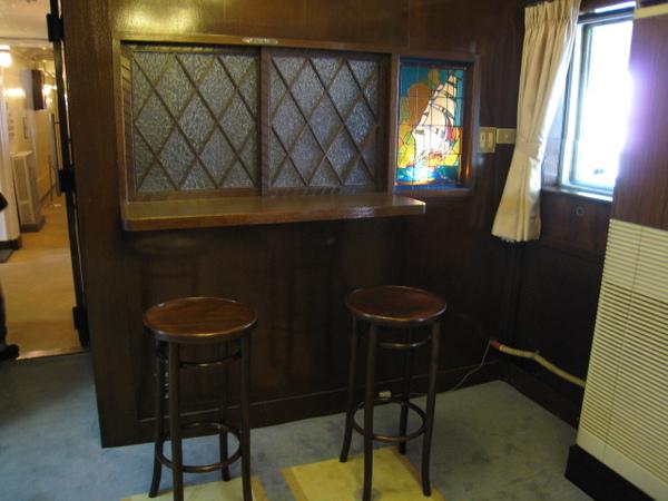 一等喫煙室的bar台
