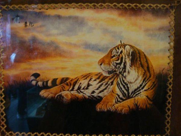 栩栩如生的老虎