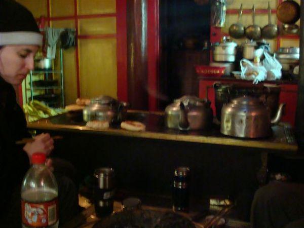 用炕煮水 煮茶