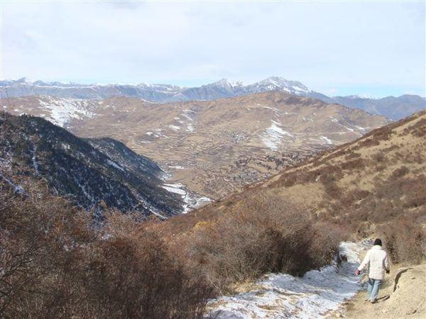 和台灣綠油油的山景不同