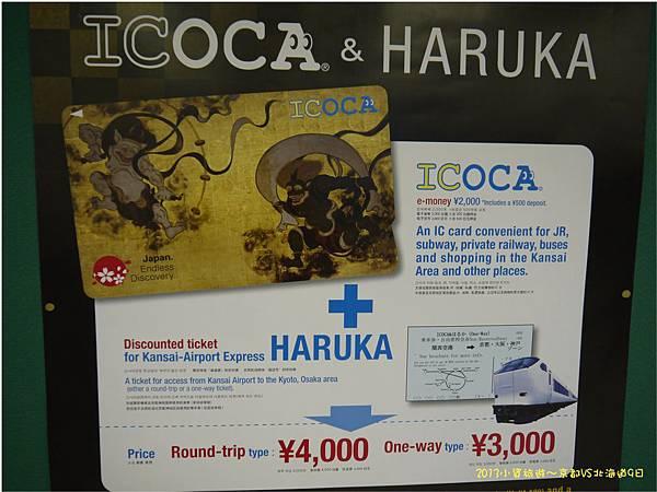 ICOCA卡 関西