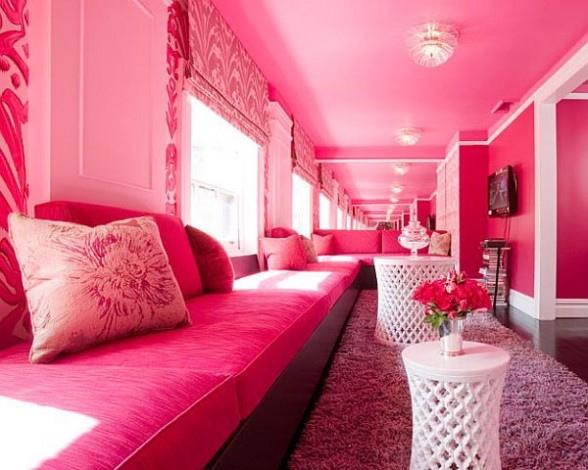 Pink-living-room-furnishing-a...