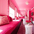 Pink-living-room-furnishing-a...