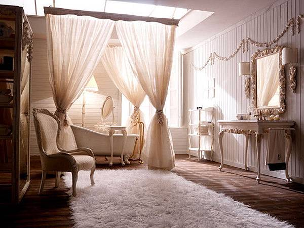 Using Bathroom Drapes For Enh...