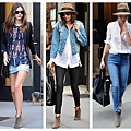 The-Art-of-Accessorizing-from-HelenHou_com-Miranda-Kerr-paired-her-Isabel-Marant-Isabel-Marant-booties-with-a-variety-of-denim-pieces