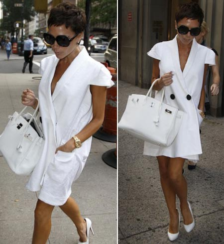 victoria-beckham-short-haircut-white-dress