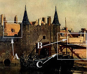 proust_view_of_delft_detail