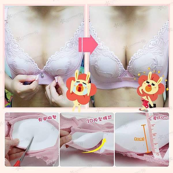 《甜心嚴選》調整型爆乳內衣3件組02