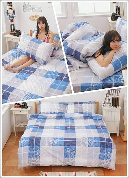 ☁雲絲絨標準雙人床包☁柔滑體驗給你居家好心情