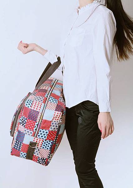 外出旅遊好夥伴【大容量折疊旅行袋X可掛式防水盥洗化妝包】