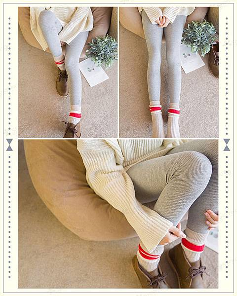 《雜誌經典款》日系80D純棉立體螺旋紋褲襪