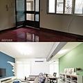 【澄明街】林公館-空間對比