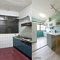 【澄明街】林公館-廚房對比