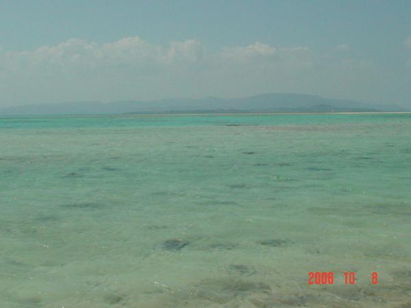 竹富島的星砂海邊