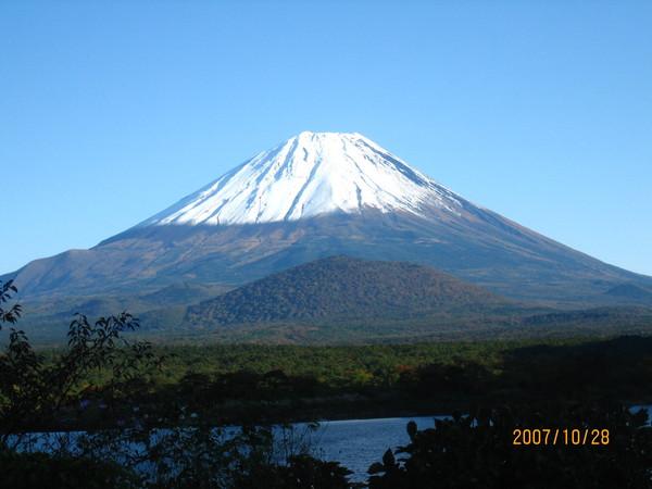 富士五湖之精進湖~