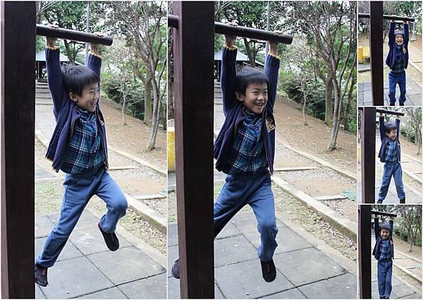 20130106_福州山公園吊單槓