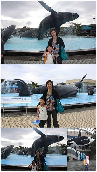 20130211_海生館_母子與鯨合照