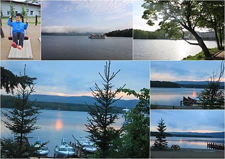 0609_day5阿寒湖畔夕照與清晨