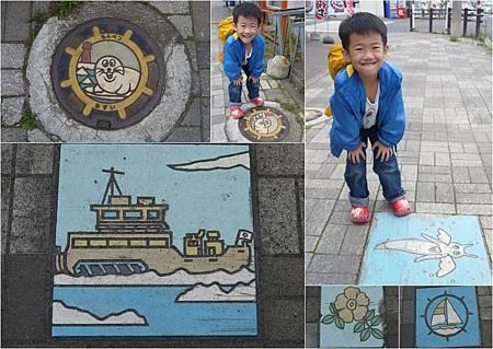 0606_day 2紋別街道特色磁磚