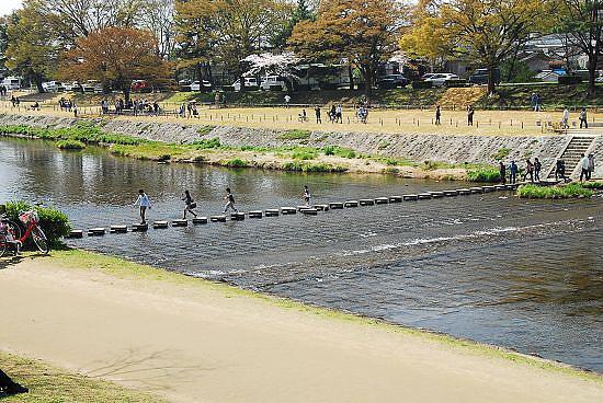 橫渡賀茂川