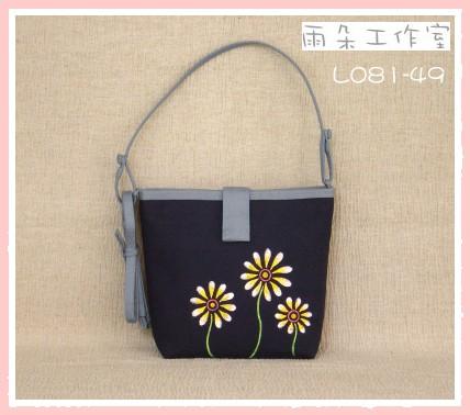 L081-49香菊系列手工彩繪手工包(兩用袋)