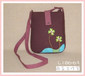幸運草系列L186-63-(斜背袋)