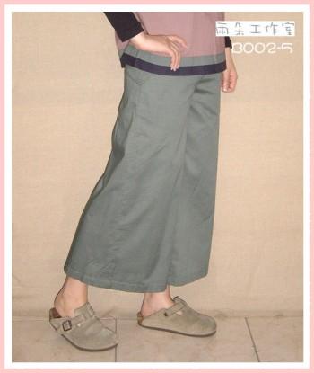 B002-5-手染褲-已售
