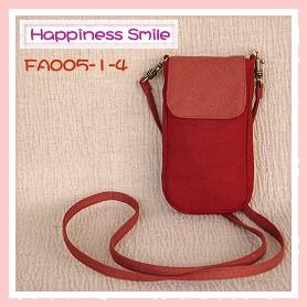 ipod斜背袋-素面-FA005-1-4(紅+粉紅)