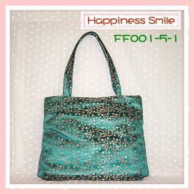 錦緞中國風系列-肩背袋FF001-5-1(青)