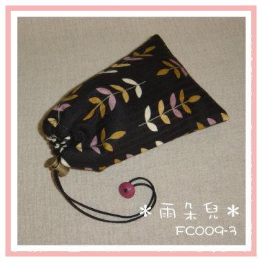 FC009-3葉子圖相機袋(黑色)