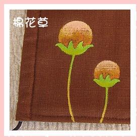 口罩圖案-棉花草