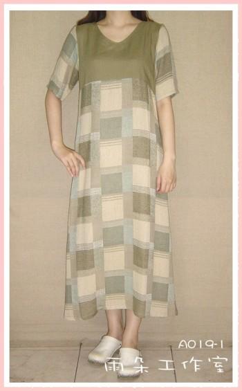 A019-1-洋裝-已售