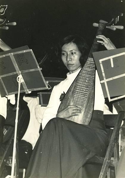 1973-大學國樂社琵琶