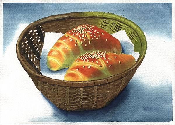 牛角麵包-縮小