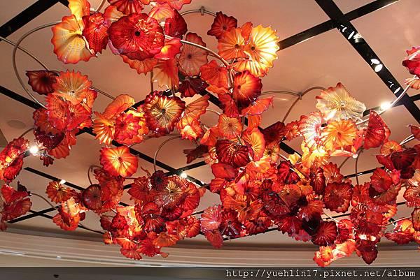MGM飯店LOBBY燈