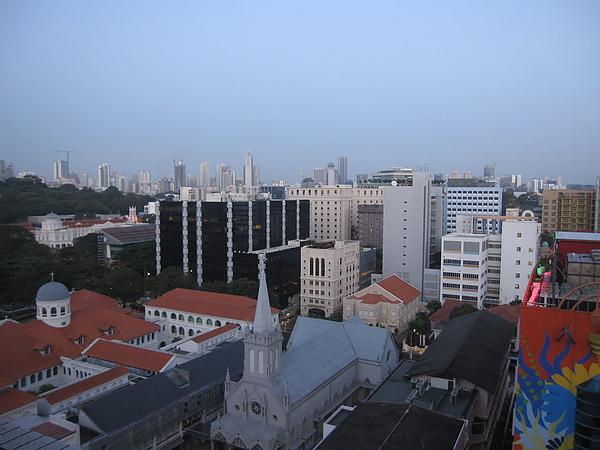 清晨從飯店看出去的景色.JPG