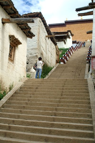 面聖的樓梯
