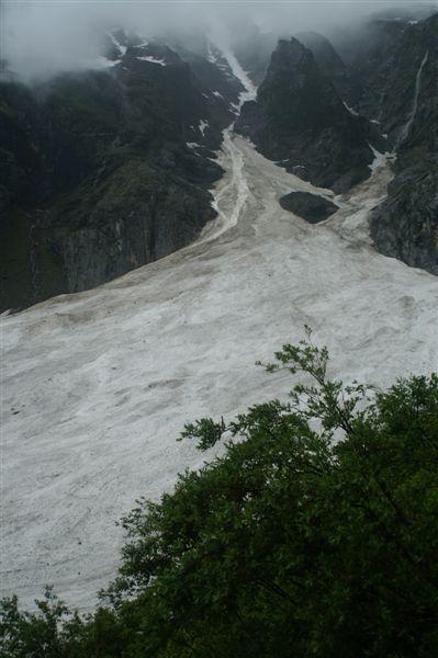 神瀑附近冰川4