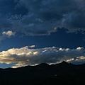 稻城黃昏的天空