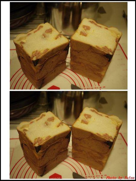 葡萄乾奶酥雙色吐司&熱狗起司片吐司(冷藏中種,26兩)13.jpg